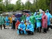Во время посещения Карканошского национального парка, май 2009 г.